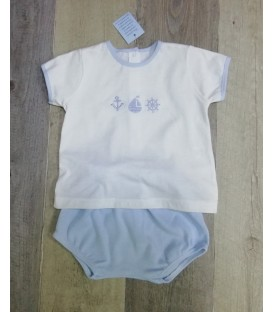 Conjunto de algodón bebé