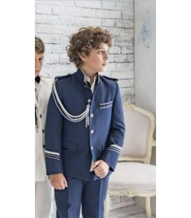 Traje de almirante Marfe azul marino